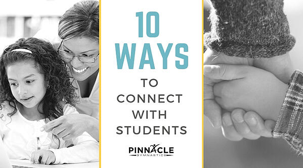 10 ways to connect with students