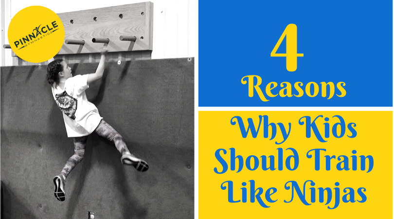 4 Reasons Why Kids Should Train Like NInjas