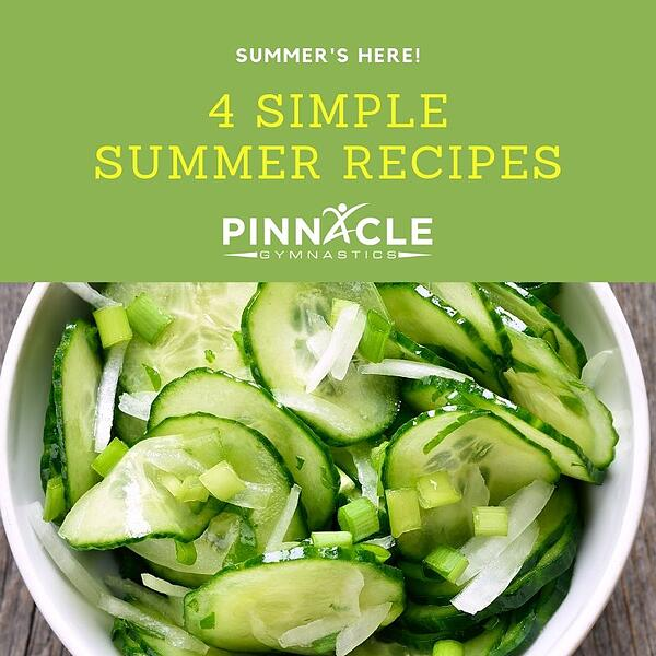 4 Simple Summer Recipes