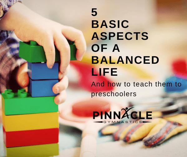 5 Basic Aspectsof a balanced Life
