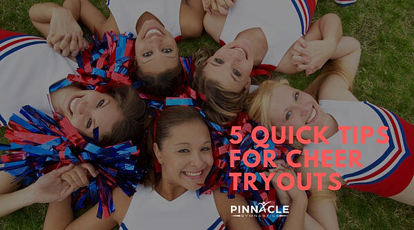 5 Quick Tips for Cheer Tryouts