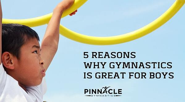 5 Reasons Why Gymnastics Is Great For BoYs