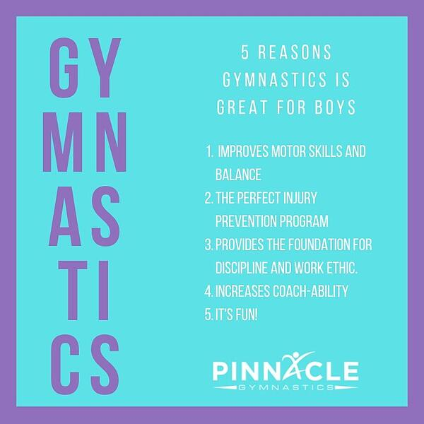5 Reasons gymnastics is great for boys