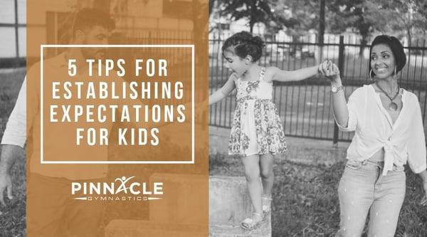 5 Tips for Establishing Expectations for Kids
