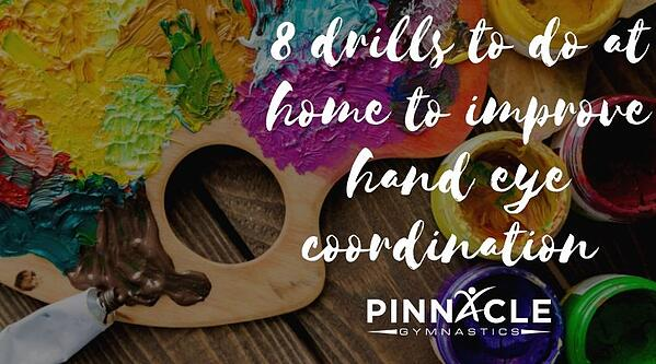 8 drills to do at home to improve hand eye coordination