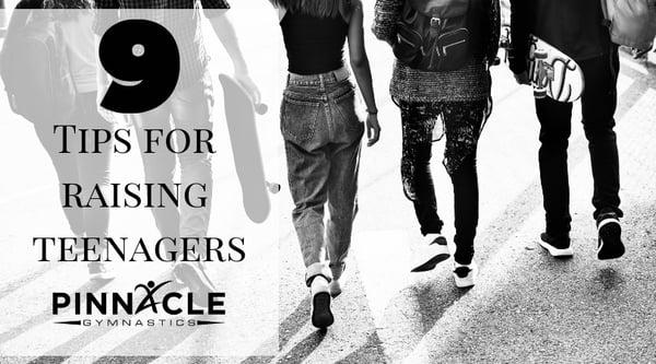 9 Tricks for raising teenagers