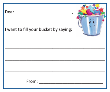 Bucket Filling Note