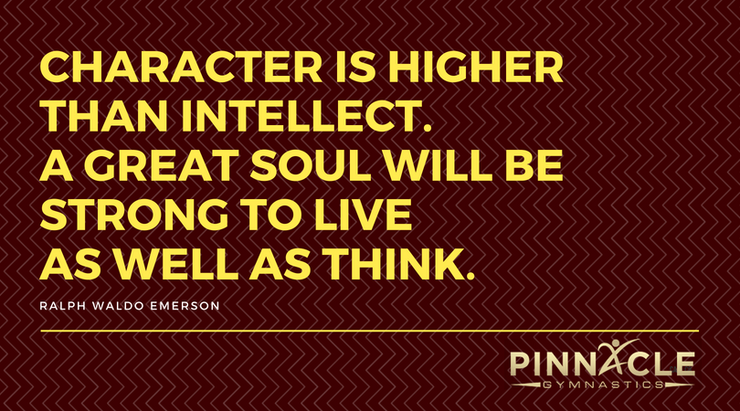 Character is higher than intellect. A great soul will be strong to live as well as think.