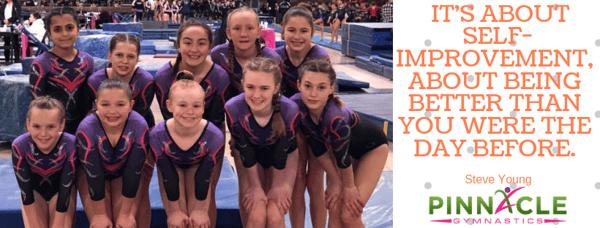 Xcel and Junior Olympic Gymnastics