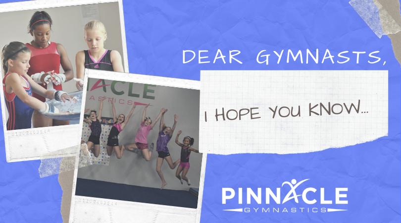 Dear Gymnast,