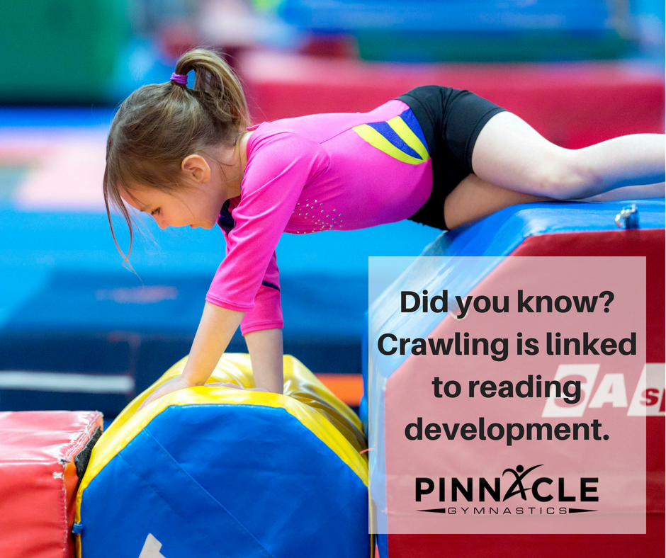 Did you know? Crawling is linked to reading development.