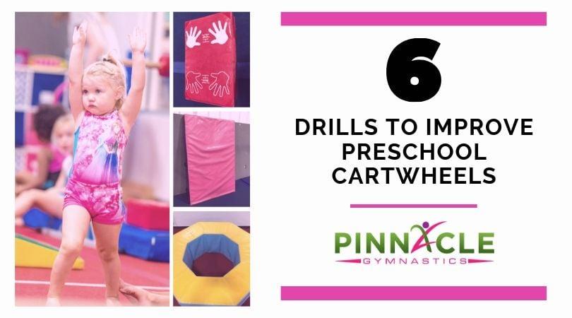 Drills to improve preschool cartwheels