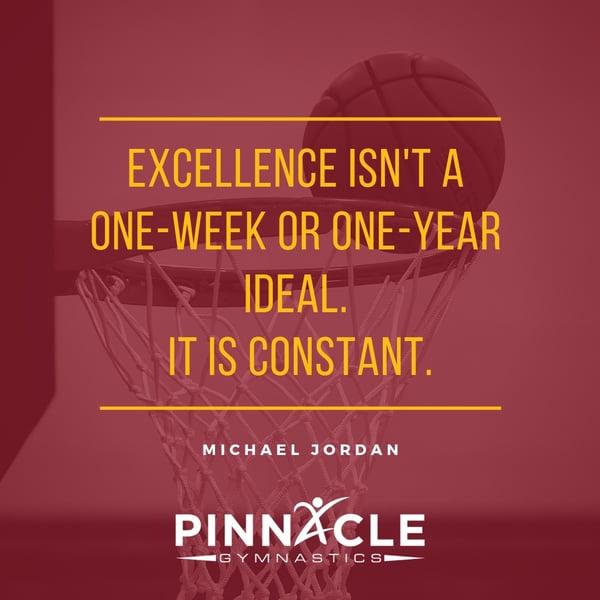 Excellence quote Jordan