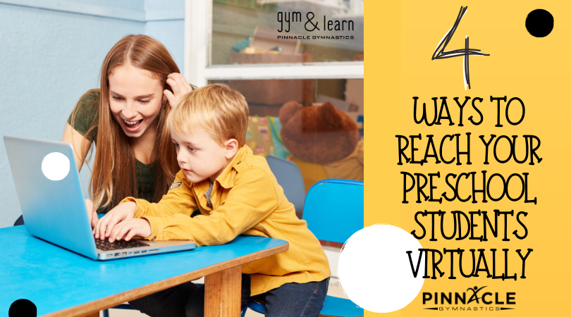 Four Ways to Reach Your Preschool Students Virtually