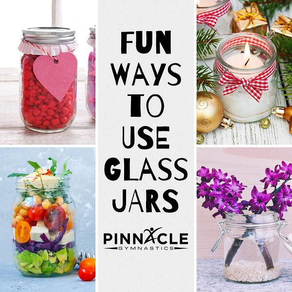 Fun Ways to USE GLass JARS
