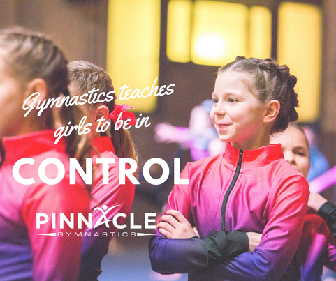 Gymnastics teaches girls to be in control