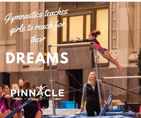 Gymnastics teaches girls to reach for their dreams