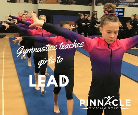 Gymnastics teaches girls to lead