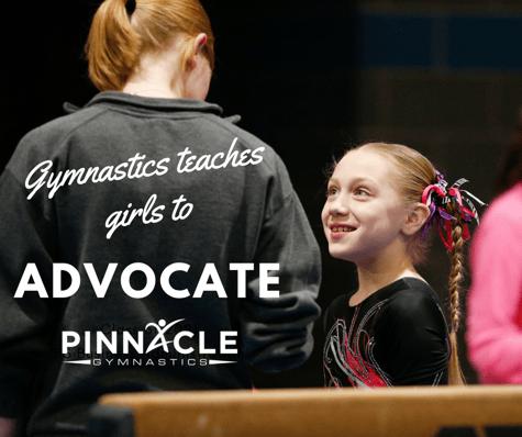 Gymnastics teaches girls to advocate