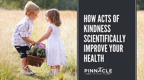 HOw acts of kindness scientifically improve your health