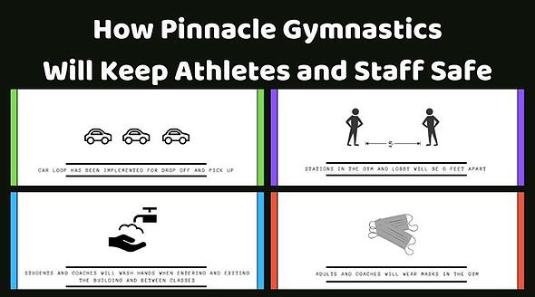 How Pinnacle Gymnastics Will Re-Open Safely (1)