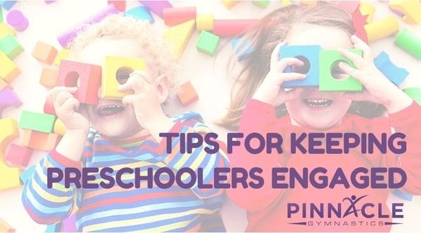 How do you engage a preschooler