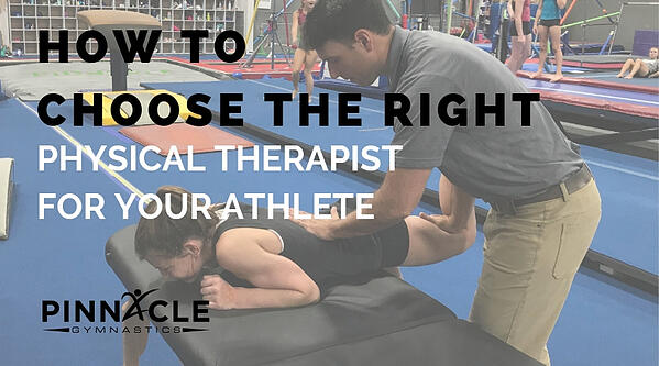 How to choose the right physical therapist for your athlete