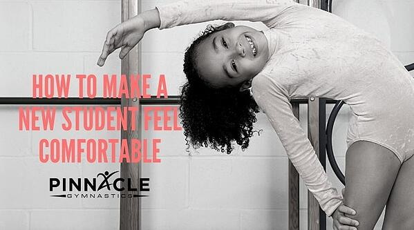 How to make a new student feel comfortable