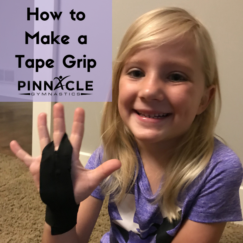 How to make a tape grip