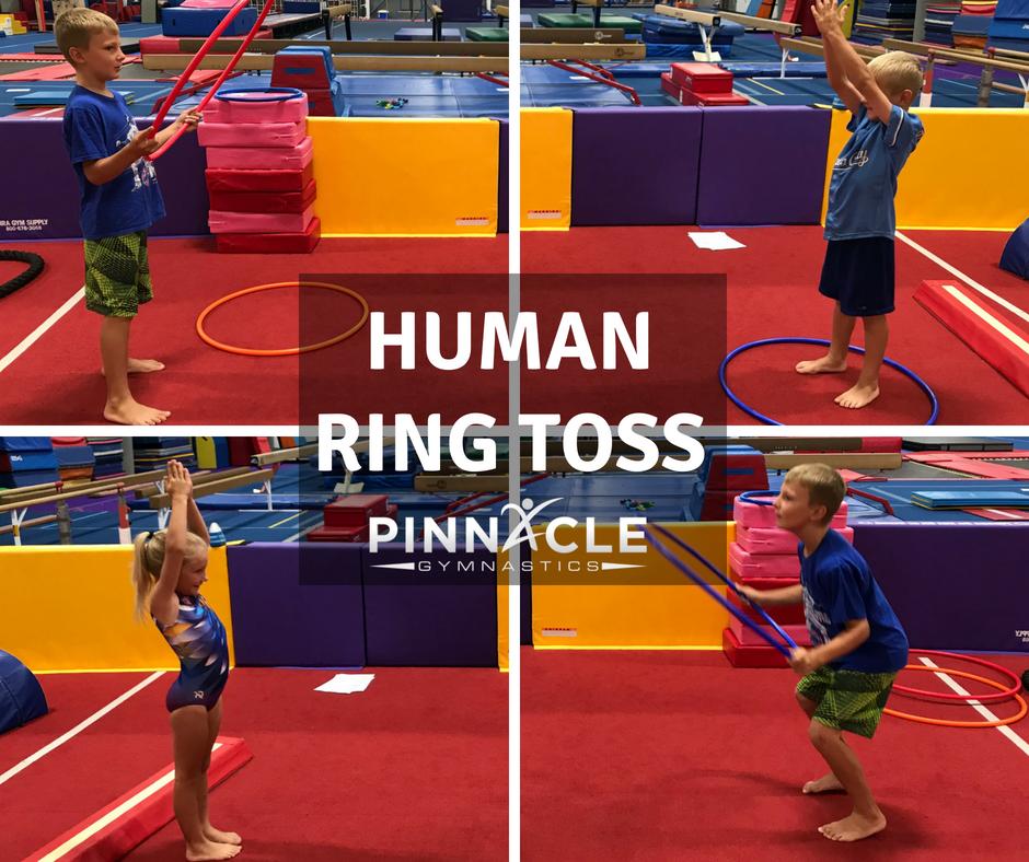 Human Ring Toss