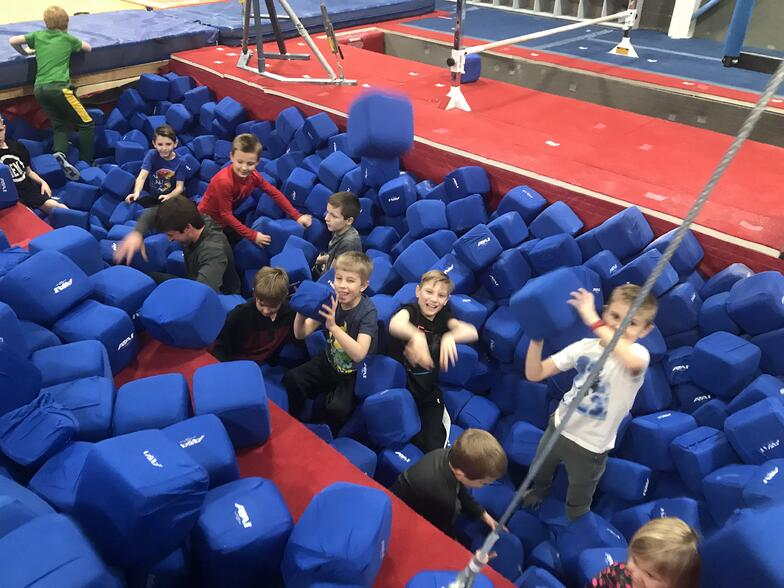 safety of foam pits