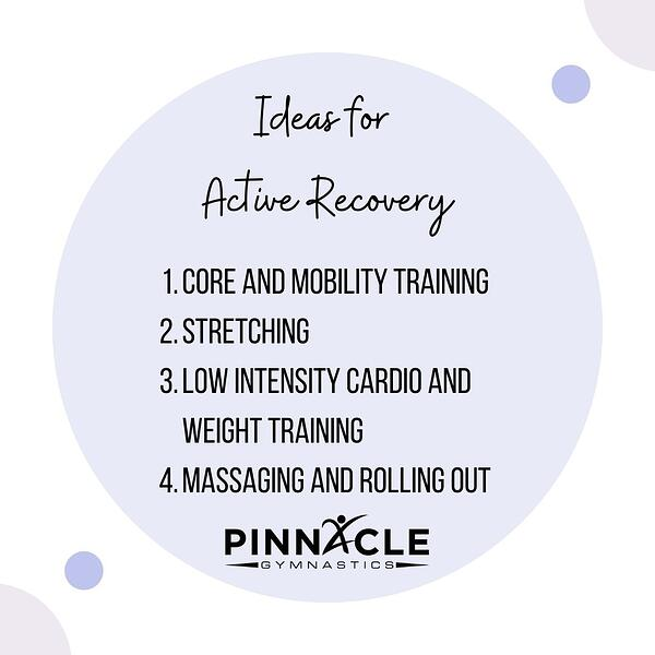 Ideas for Active Recovery
