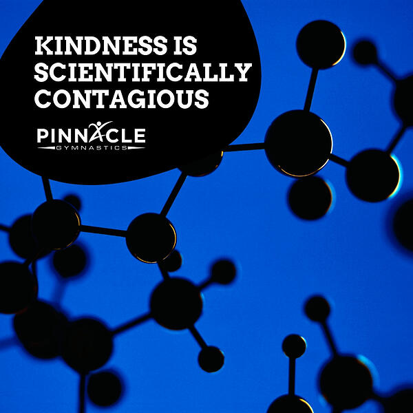Kindness is scientifically contagious