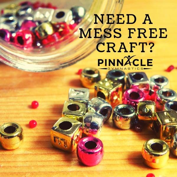 Mess free crafts