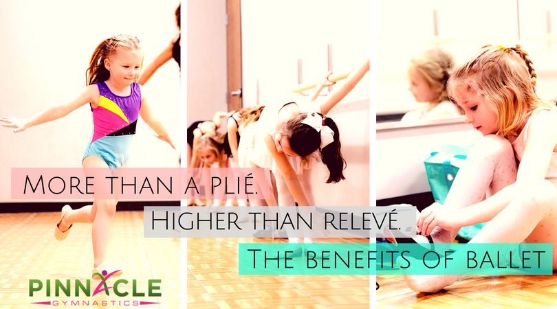 More than a plié. Higher than relevé. The benefits of ballet for kids