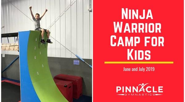 Ninja Warrior Camp for Kids