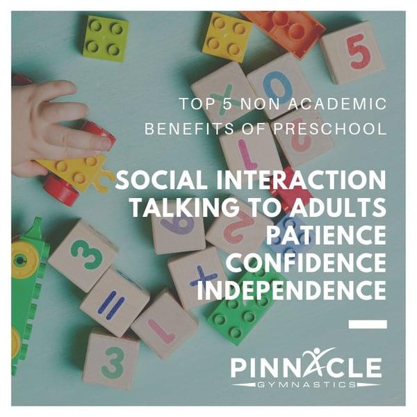 Non Academic Benefits of Preschool (1)