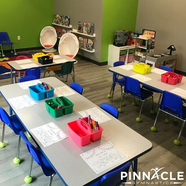 Play based learning classroom