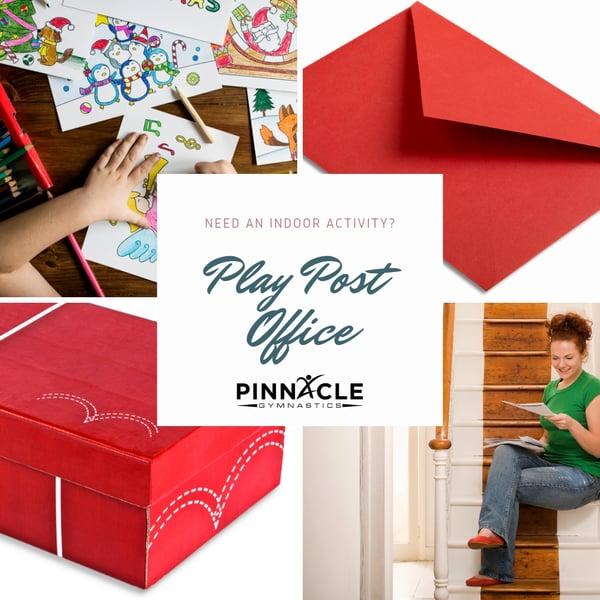 Play Post Office fun indoor activity for preschoolers