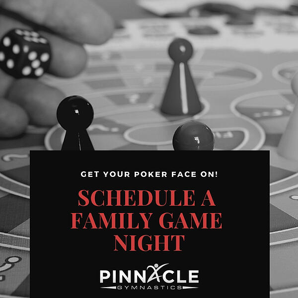 Schedule a family game night