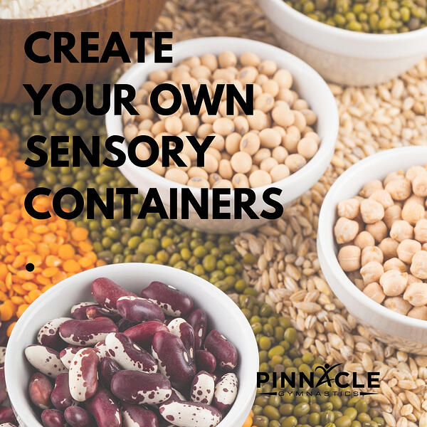 Sensory Containers fun indoor activities for preschoolers