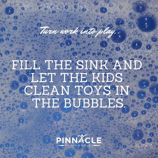 Soap Suds Fun Indoor Activities for Preschoolers