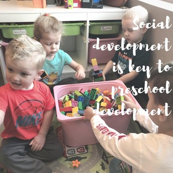 benefits of blocks for preschoolers