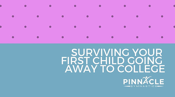 Surviving your first child going away to college