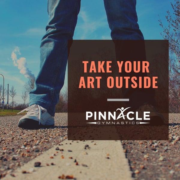 Take your art outside