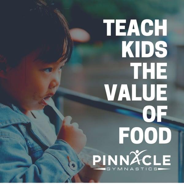 Teach Kids the Value of Food