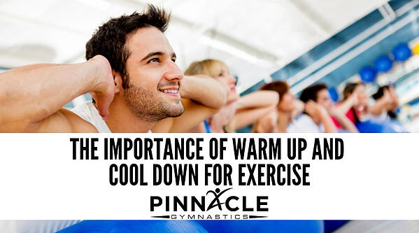 The importance of warm up and cool down for exercise