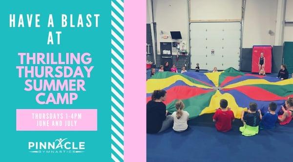 Thrilling Thursday Summer Camp 2019