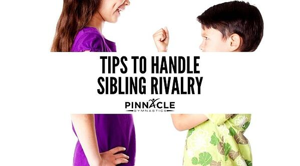 Tips To Handle Sibling Rivalry