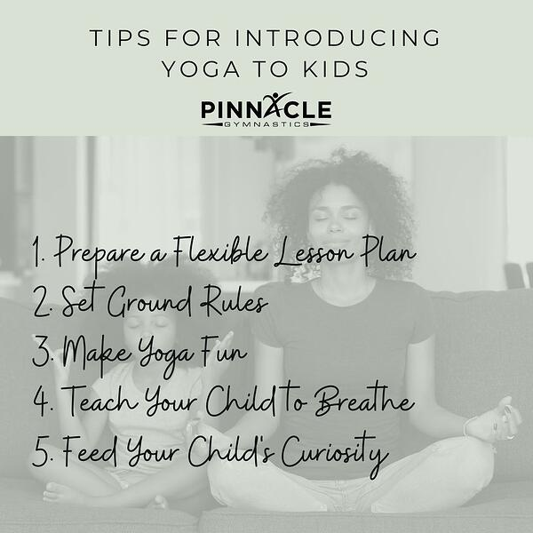Tips for Introducing yoga to kids